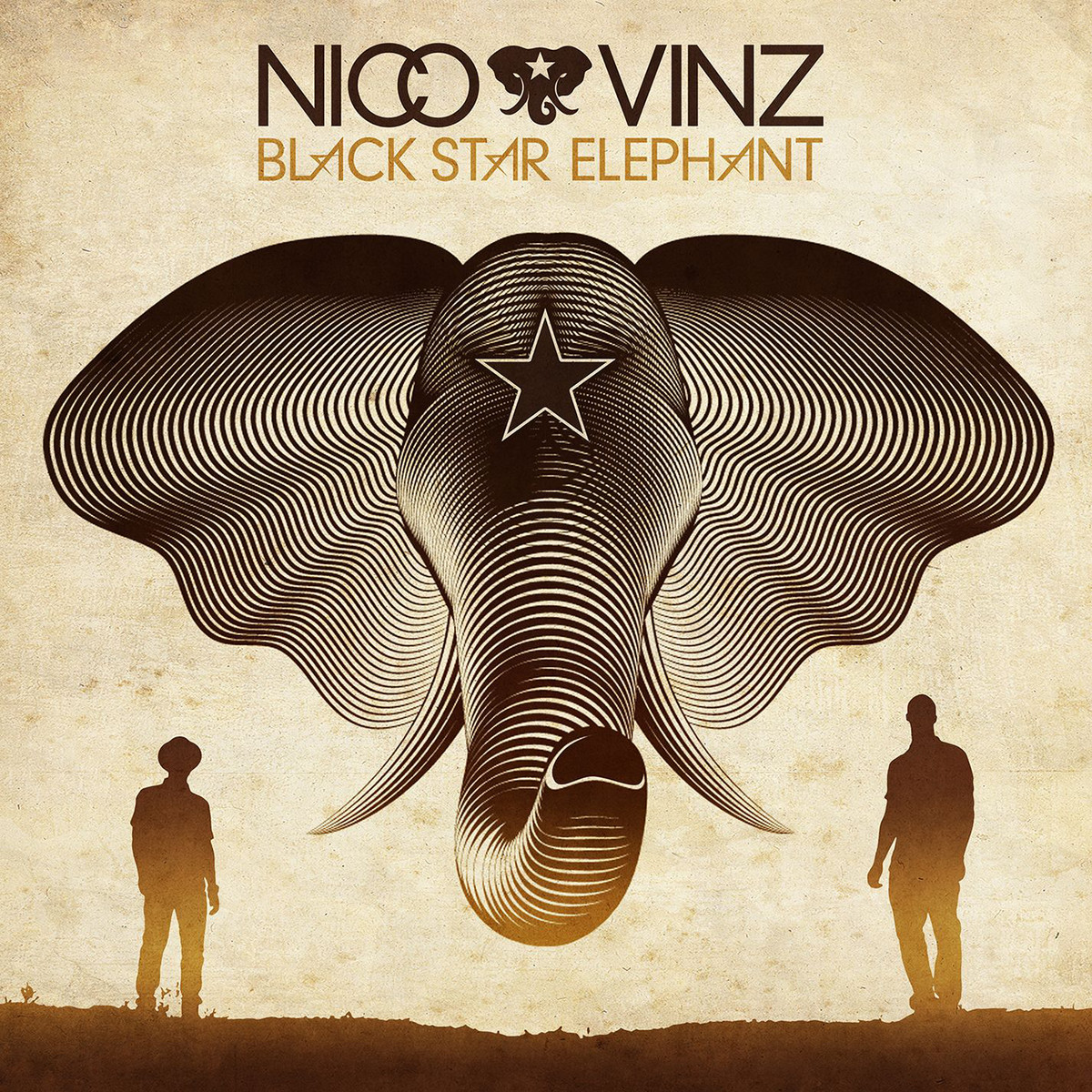 Black star elephant